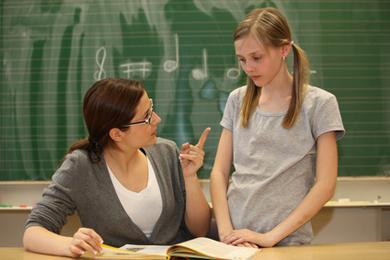 Lehrer Und Schülerin Haben Lust
